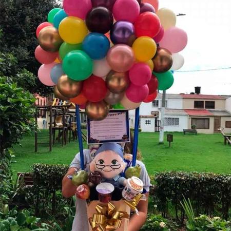 globo helio cumpleaños