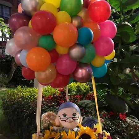 globos de helio cumpleaños