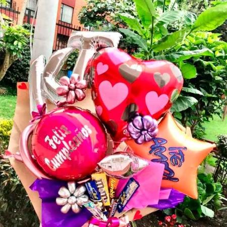regalos sorpresas globos helio